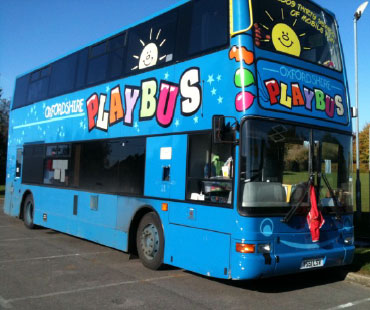 Play Bus Comes to King's Sutton